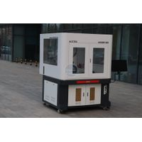 Customized model 20w 30w fiber laser marking machine 3d laser cnc AK6090F thumbnail image