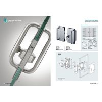 High Quality Stainless Steel glass sliding door lock
