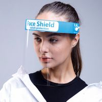 Anti- Splash and Splatter Safety Fluid Resistant Anti-Fog Transparent PET Face Shield thumbnail image