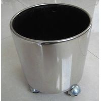Stainless steel flower pot.garden planter,garden flower planter