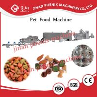 dried pet cat food extruder making machine thumbnail image