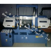 New horizontal saw machine,GB4240X angle cut band saw machine for metal cutting