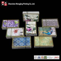 280gsm poker paper playig cards,varnishing finish,custom design accepted thumbnail image