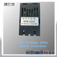 1x9 155Mbps 20km  SM SC Optical Transceiver thumbnail image