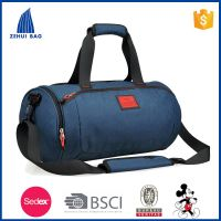 2016 waterproof fashion cylinder gym bag sport bag weekend