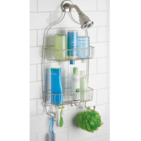 over door shower Caddy,hanging bathroom Shower Caddy,Shower Caddy Rack Organizer with Shelves thumbnail image