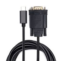 6.6ft / 2m 3.1 Standard Usb Type-C Cable To Vga For Made Cable Adapter thumbnail image