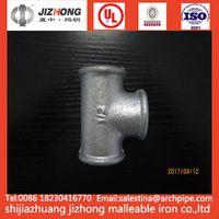 Malleable Iron DIN Standard Tee