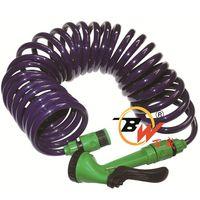10mm Retractable Spring Spiral Coiled EVA garden irrigation hose thumbnail image