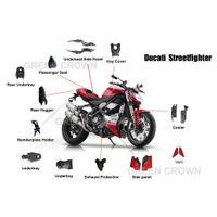 Ducati motorcycle carbon kits