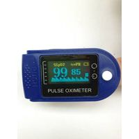 CE fingertip pulse oximeter alarm function colorful dispaly