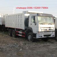 Cnhtc Sinotruk tri axle 10 wheel New Howo Dump Truck Price thumbnail image