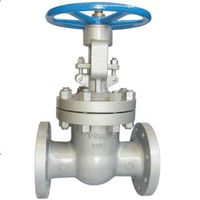Russia standard flanged rising GOST gate valve PN 63~250 30s964nzh