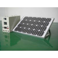 100W Portable Solar Supply System for TV/Fan/lamps