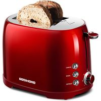 2 Slice Toaster with 50s Retro Aesthetic ST032 7 Browning Shade Settings thumbnail image