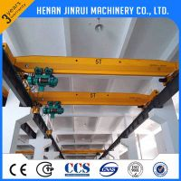 Single beam eot cranes 5 ton overhead crane