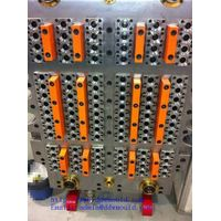 DDW professional pneumatic valve gate, self-locking PET Preform Moulds for plastic packing