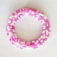 2021 New Summer Jewelry Waist Chain Colorful Waist Bead Body Chain navel chain Bikini Jewelry thumbnail image