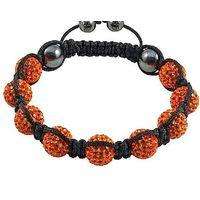 shamballa bracelet Monochrome Series #A19 salmon pink