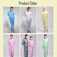 100%polyester ESD cleanroom garment thumbnail image