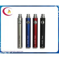 3.2v-4.8v variable voltage wholesale EVOD twist battery 650/900/1100mah,1300 mah, evod kit