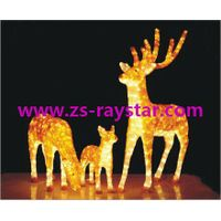 zhongshan raystar Deer lights 220v for holiday