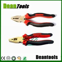 non sparking safety combination pliers ,wire side cutter
