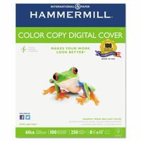"Color Copy Cover Paper, 60lb, 100 Bright, 8-1/2 x 11"" - 500 Sheets"