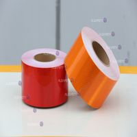 reflective conspicuity tape for vehicle