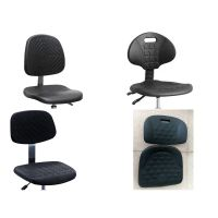 esd lab chairs , pu foam chair seat , stools