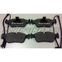 low-metallic brake pads for car