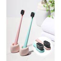 Koral Extra Soft Toothbrush, Softest Bristles for Sensitive Teeth and Gums, 7mm Velvet Bristles