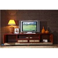 Chinese style rattan TV ark combination