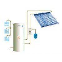 Pressurized solar water heater, split type(calentador solar de agua, presurizado, tipo de split)