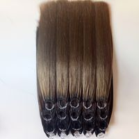 Cotton thread two stick hair Virgin hair Mid - to high-end fashion hair extensions thumbnail image