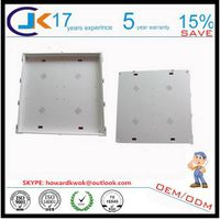 Japanese style Safety & durable 600x600 led abs plastic light housing factory