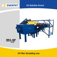 Oil filter recycling machine for sale with CE