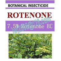 7.5% Rotenone EC, biopesticide, organic insecticide, botanic