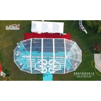 300 People Transparent Party Marquee with Clear Roof Cover for Outdoor Parties thumbnail image