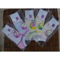 custom colorful 100% cotton women ankle socks