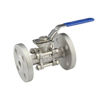 3PC Flanged Ball Valve With ISO5211 Mounting Pad thumbnail image