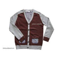Fashion Boy Style Kids Cardigan Sweater Garment