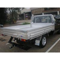 aluminum block truck rear body