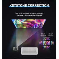 P15 full HD 1080p Android9.0 DLP LED portable projector thumbnail image