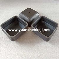 Square foot bowl Stacking foot bowl Column square tube foot Bin stacker foot cup