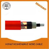 High voltage cable, 1 core armoured cable, electric power cable