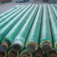 Glass reinforced plastic anti-corrosion thermal insulation pipe thumbnail image