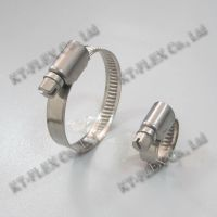 Heavy duty carbon steel hose clamp