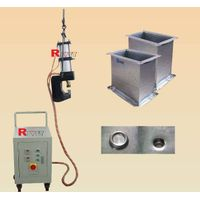 rivetless riveting machine,ventilation pipe riveting machine