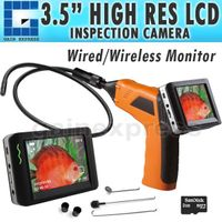 """8803AL_1M 3.5"""" Wireless 4 LED Inspection Camera 9mm Endoscope DVR 1M Cable"""